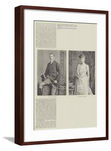 The New Lord-Lieutenant of Ireland--Framed Art Print