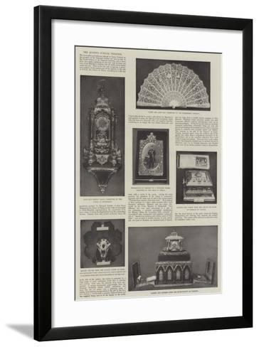 The Queen's Jubilee Presents--Framed Art Print