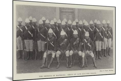 The Defence of Mafeking, Group of Cape Mounted Police--Mounted Giclee Print