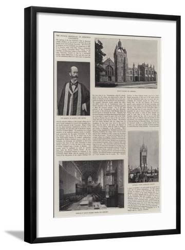 The Fourth Centenary of Aberdeen University--Framed Art Print