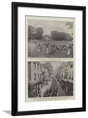 The Winchester College Celebration--Framed Art Print