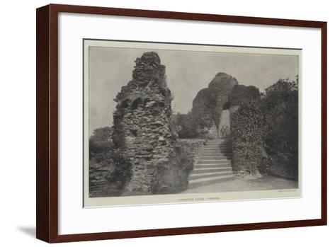Launceston Castle, Cornwall--Framed Art Print