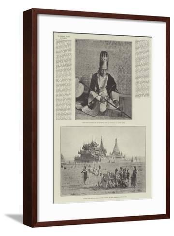 Burmese Past Royalty--Framed Art Print