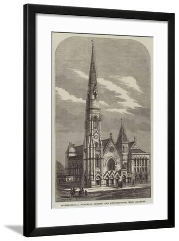 International Memorial Church and Lecture-Room, West Hackney--Framed Art Print