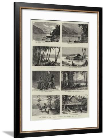 The Cruise of the Yacht Marchesa to Celebes and New Guinea--Framed Art Print