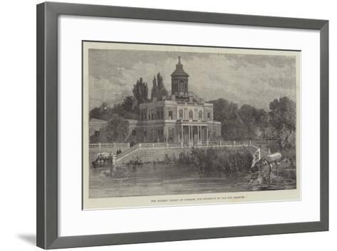The Marble Palace at Potsdam, the Residence of the New Emperor--Framed Art Print