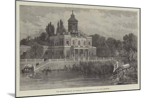 The Marble Palace at Potsdam, the Residence of the New Emperor--Mounted Giclee Print