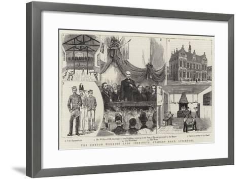 The Gordon Working Lads Institute, Stanley Road, Liverpool--Framed Art Print