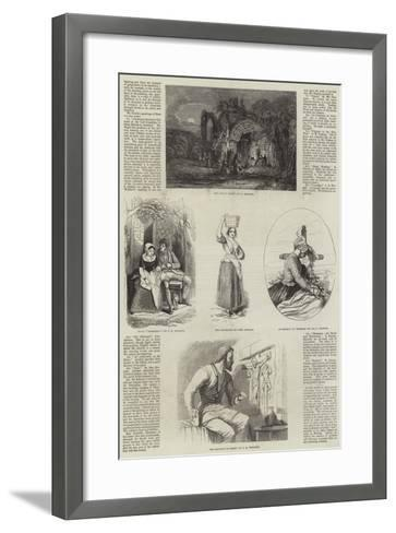 Exhibition of the New Society of Painters in Water Colours--Framed Art Print
