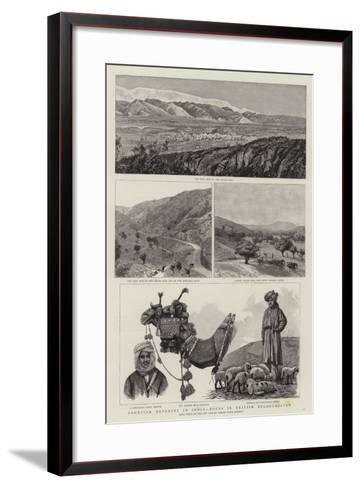 Frontier Defences in India, Notes in British Beloochistan--Framed Art Print
