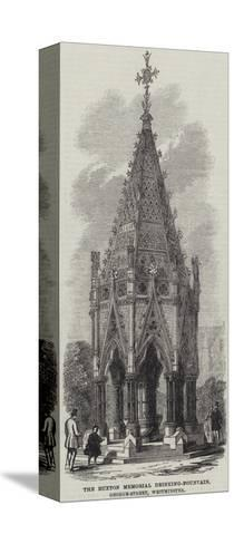 The Buxton Memorial Drinking-Fountain, George-Street, Westminster--Stretched Canvas Print