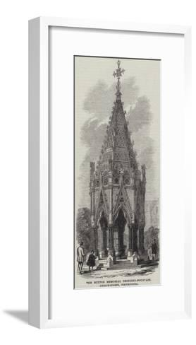 The Buxton Memorial Drinking-Fountain, George-Street, Westminster--Framed Art Print