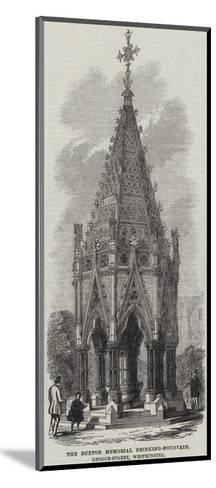 The Buxton Memorial Drinking-Fountain, George-Street, Westminster--Mounted Giclee Print