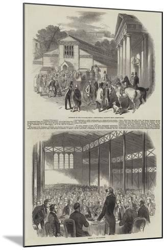 Shrewsbury Meeting of the Royal Agricultural Society of England--Mounted Giclee Print