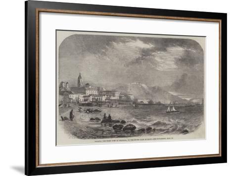 Malaga, the Chief Port of Granada, on the South Coast of Spain--Framed Art Print