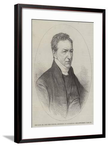 The Late Dr John Bird Sumner, Archbishop of Canterbury--Framed Art Print