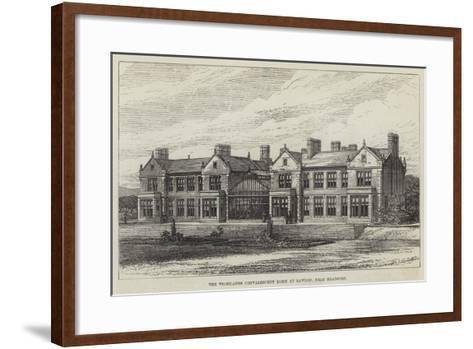 The Woodlands Convalescent Home at Rawdon, Near Bradford--Framed Art Print
