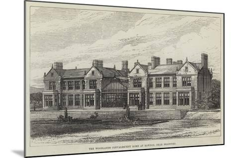 The Woodlands Convalescent Home at Rawdon, Near Bradford--Mounted Giclee Print