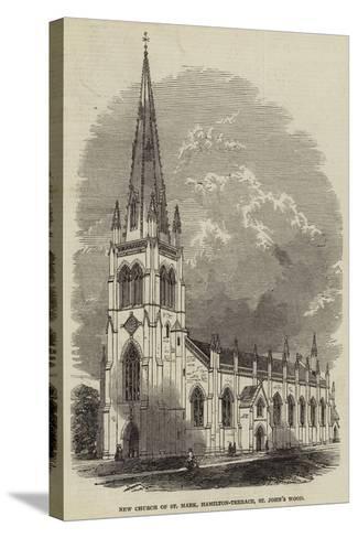 New Church of St Mark, Hamilton-Terrace, St John's Wood--Stretched Canvas Print
