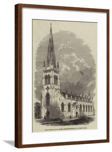 New Church of St Mark, Hamilton-Terrace, St John's Wood--Framed Art Print