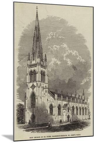 New Church of St Mark, Hamilton-Terrace, St John's Wood--Mounted Giclee Print