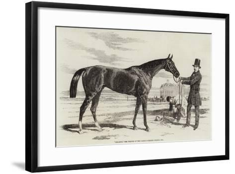 Malacca, the Winner of the Cambridgeshire Stakes, 1856--Framed Art Print