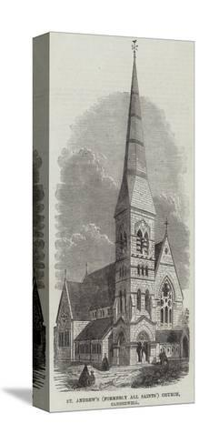 St Andrew's (Formerly All Saints) Church, Camberwell--Stretched Canvas Print