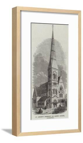 St Andrew's (Formerly All Saints) Church, Camberwell--Framed Art Print