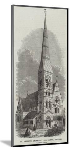 St Andrew's (Formerly All Saints) Church, Camberwell--Mounted Giclee Print