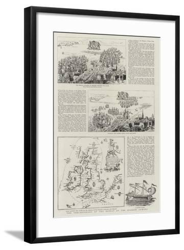 The Tercentenary of the Defeat of the Spanish Armada--Framed Art Print