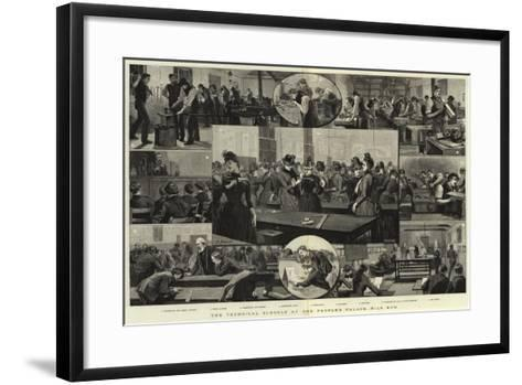 The Technical Schools at the People's Palace, Mile End--Framed Art Print