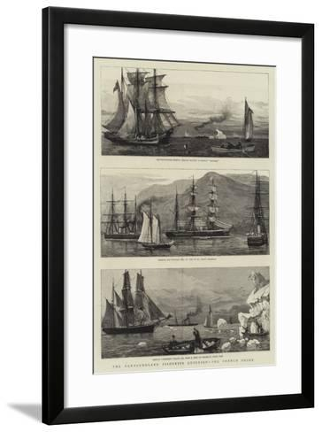 The Newfoundland Fisheries Question, the French Shore--Framed Art Print