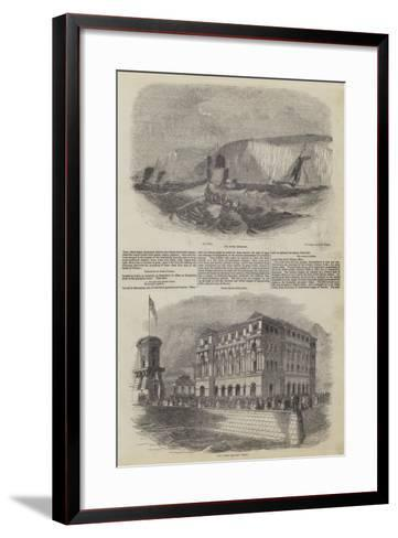 Pleasure Ports of the South Eastern Railway, Dover--Framed Art Print