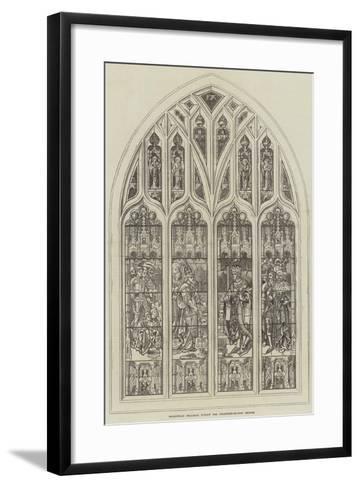 Shakespeare Memorial Window for Stratford-On-Avon Church--Framed Art Print