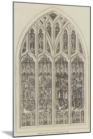 Shakespeare Memorial Window for Stratford-On-Avon Church--Mounted Giclee Print