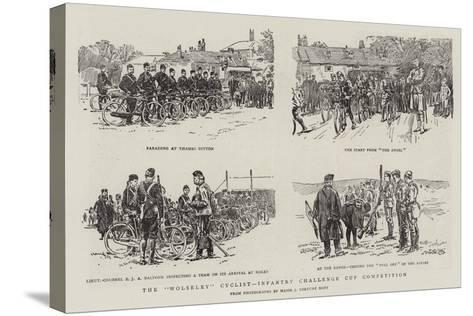 The Wolseley Cyclist-Infantry Challenge Cup Competition--Stretched Canvas Print