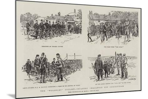 The Wolseley Cyclist-Infantry Challenge Cup Competition--Mounted Giclee Print