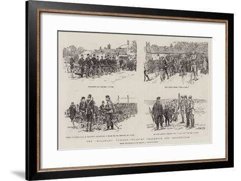 The Wolseley Cyclist-Infantry Challenge Cup Competition--Framed Art Print
