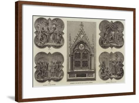 Monument to the Late Lord Elgin in Calcutta Cathedral--Framed Art Print