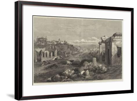 The Crimea Revisited, Ruins of the City of Sebastopol--Framed Art Print