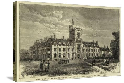 The Royal Agricultural College, Cirencester, South Front--Stretched Canvas Print