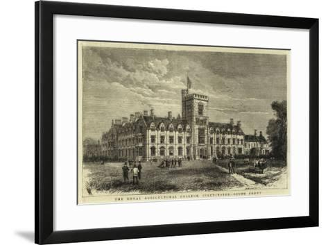 The Royal Agricultural College, Cirencester, South Front--Framed Art Print