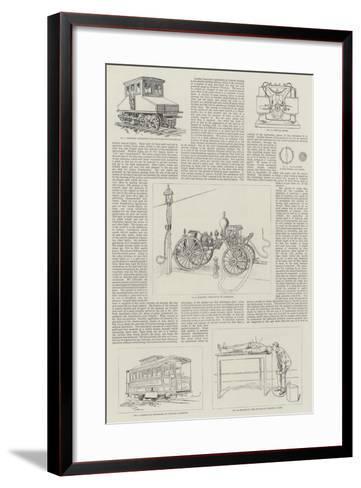Recent Developments of Electricity as an Industrial Art--Framed Art Print