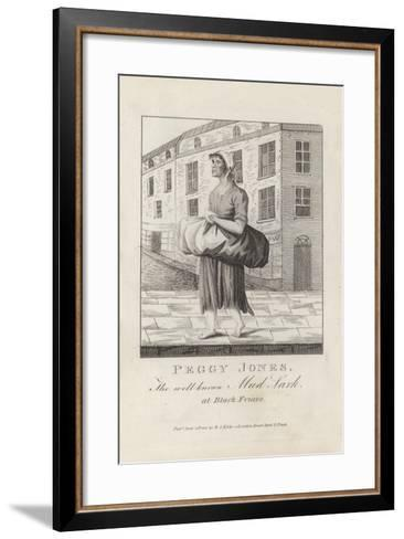 Peggy Jones, the Well known Mud Lark at Black Friars--Framed Art Print