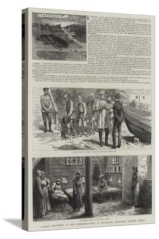 Karsakov and Other Convict Settlements in Saghalien--Stretched Canvas Print