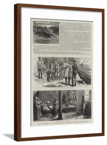 Karsakov and Other Convict Settlements in Saghalien--Framed Art Print
