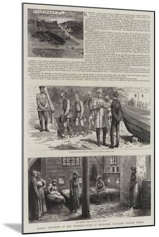 Karsakov and Other Convict Settlements in Saghalien--Mounted Giclee Print