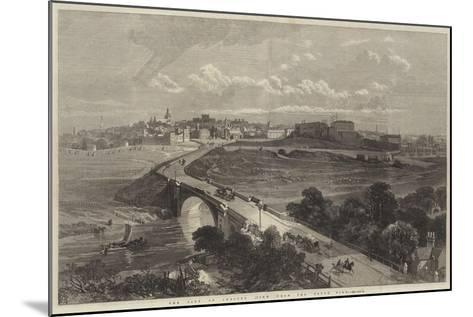 The City of Chester, View from the South Side--Mounted Giclee Print