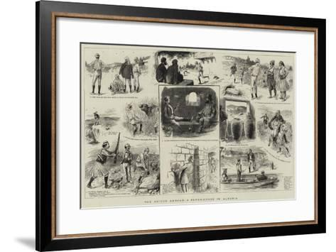 The Briton Abroad, a Paper-Chase in Albania--Framed Art Print