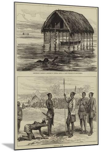 Lieutenant Cameron's Sketches in Central Africa--Mounted Giclee Print